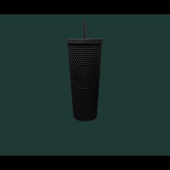 Starbucks Matte Black Studded Plastic Tumbler